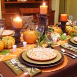 Thanksgiving Table Decorations Photo