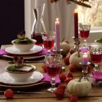 Thanksgiving Table Decorations Set