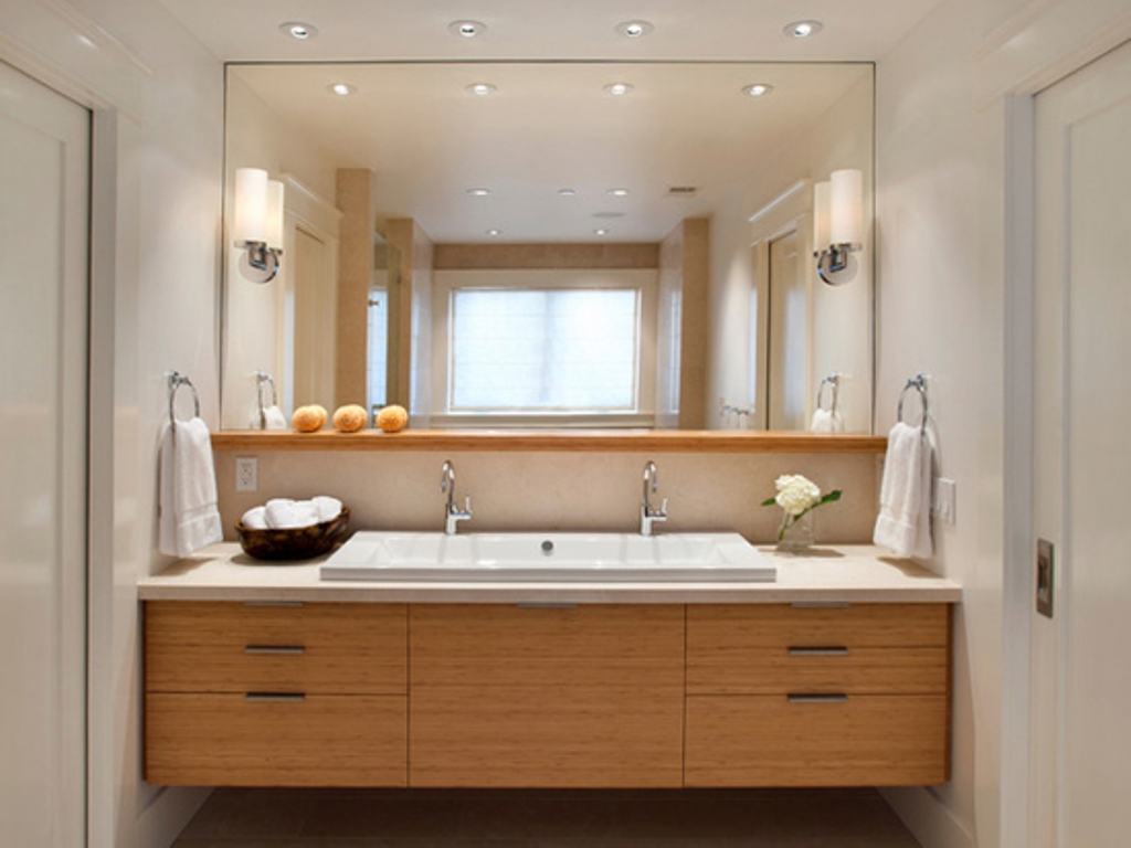 Image of: 30 Inch Bathroom Vanity Ceiling