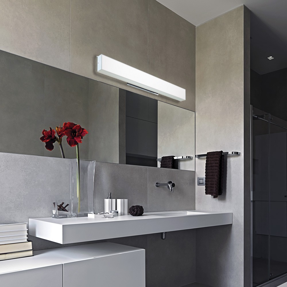 Image of: 30 Inch Bathroom Vanity Lights Led