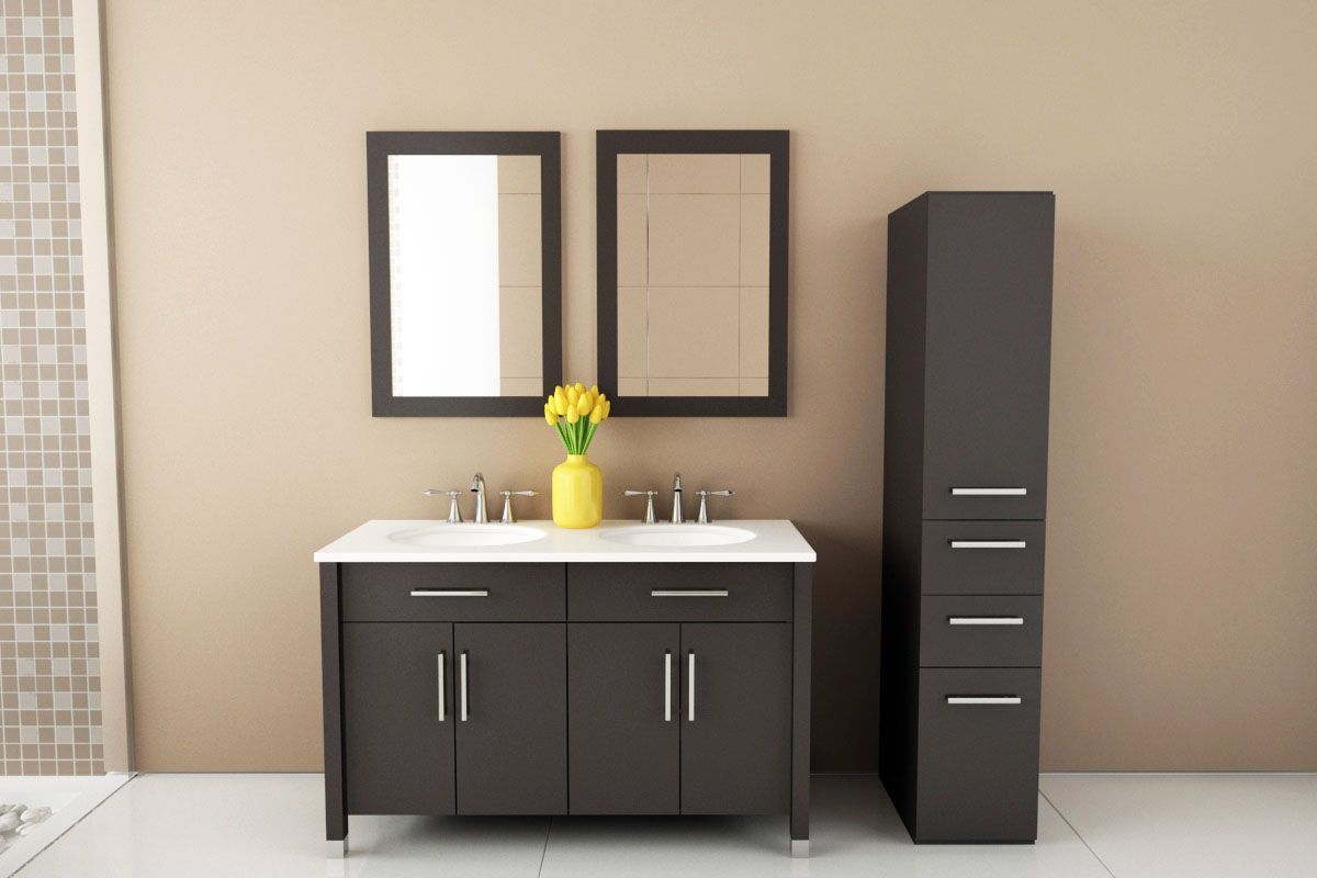 Picture of: 48 Double Sink Vanity Ideas