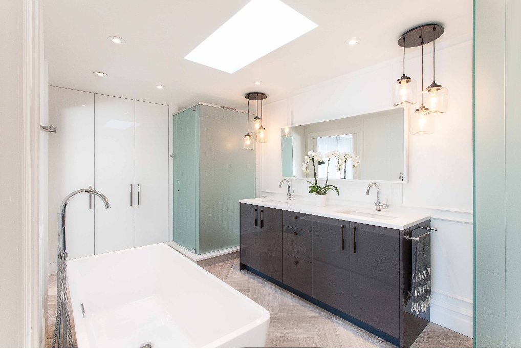 Image of: 48 Double Vanity Long