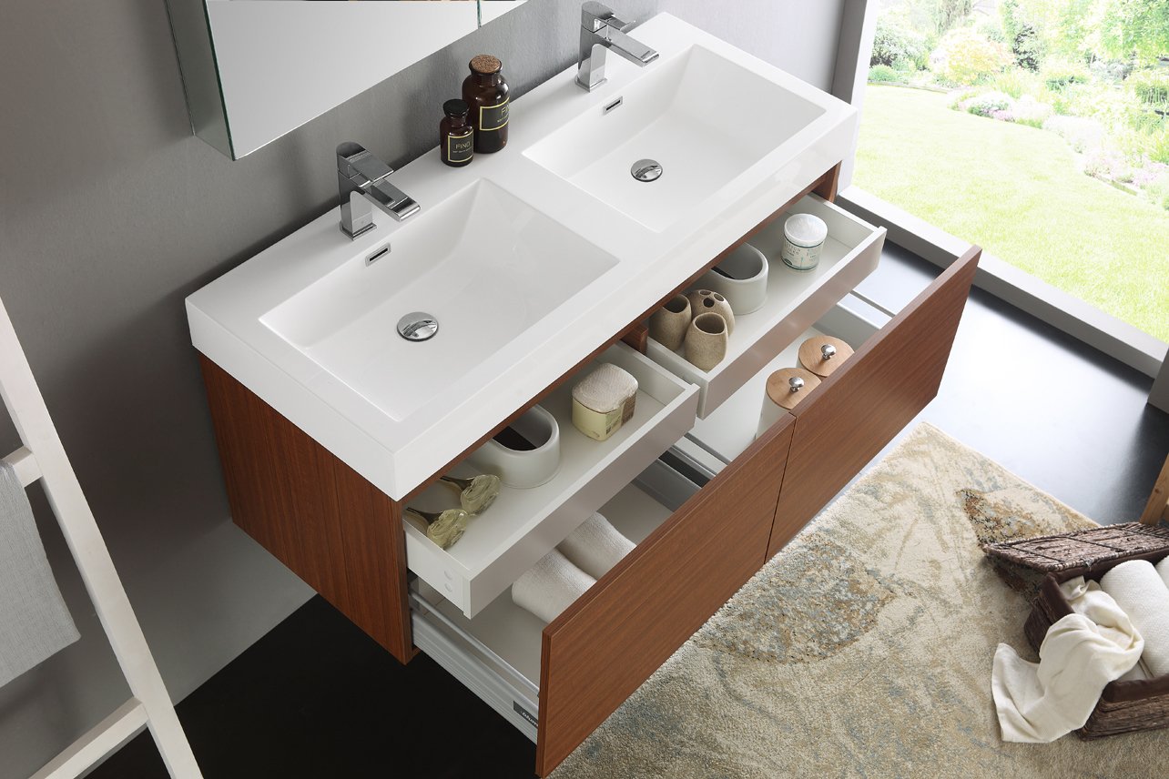 Picture of: 48 Inch Double Sink Vanity Design