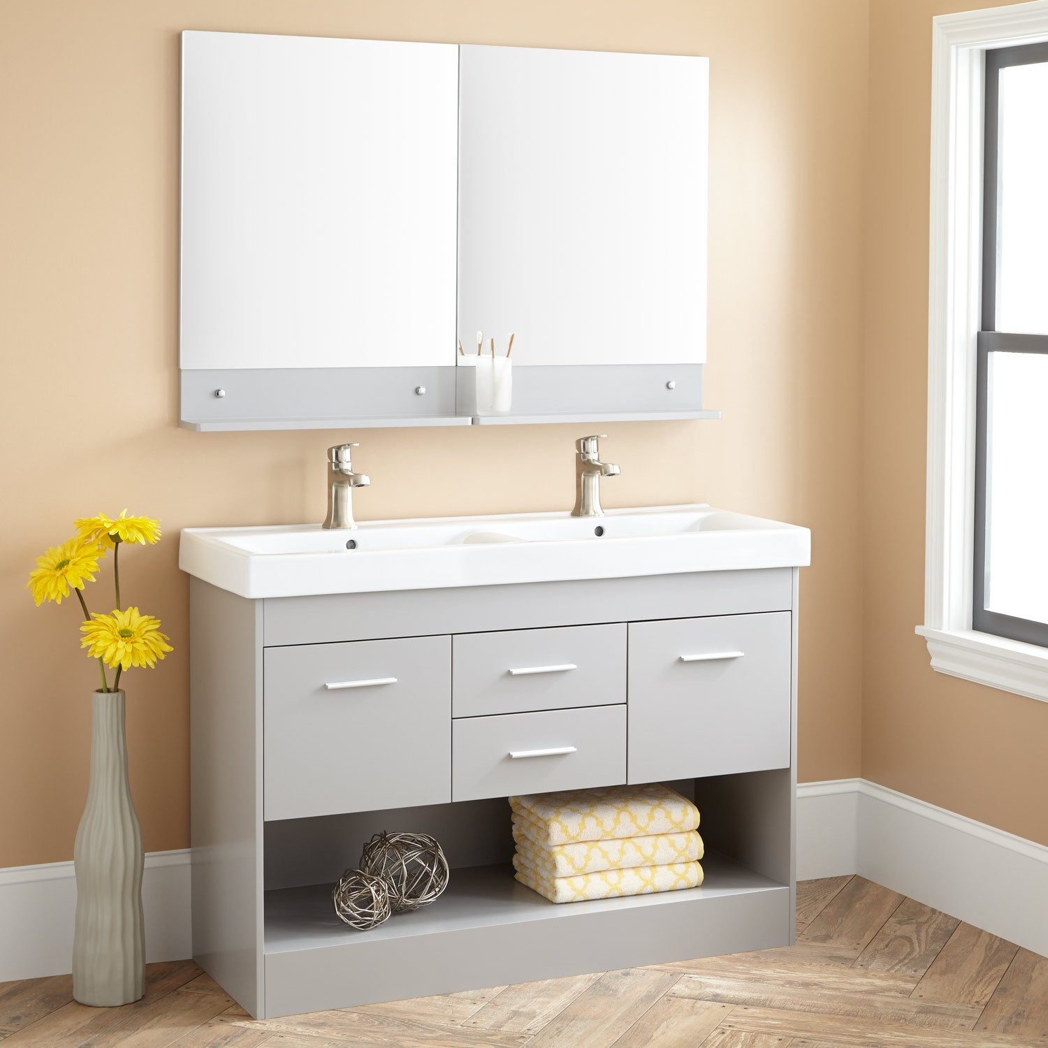 Picture of: 48 Inch Vanity with Mirror