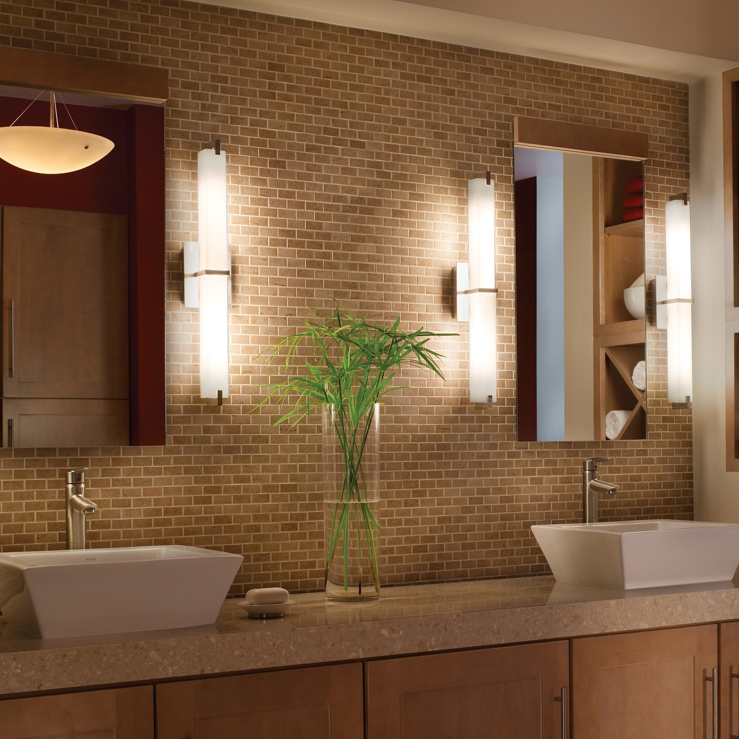 Image of: 60 Double Vanity Lights
