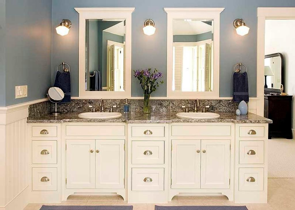 Image of: 60 Double Vanity Small