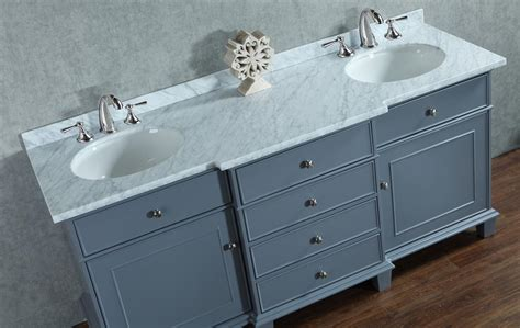 Image of: 60 Inch Bathroom Vanity Double Sink Amazing