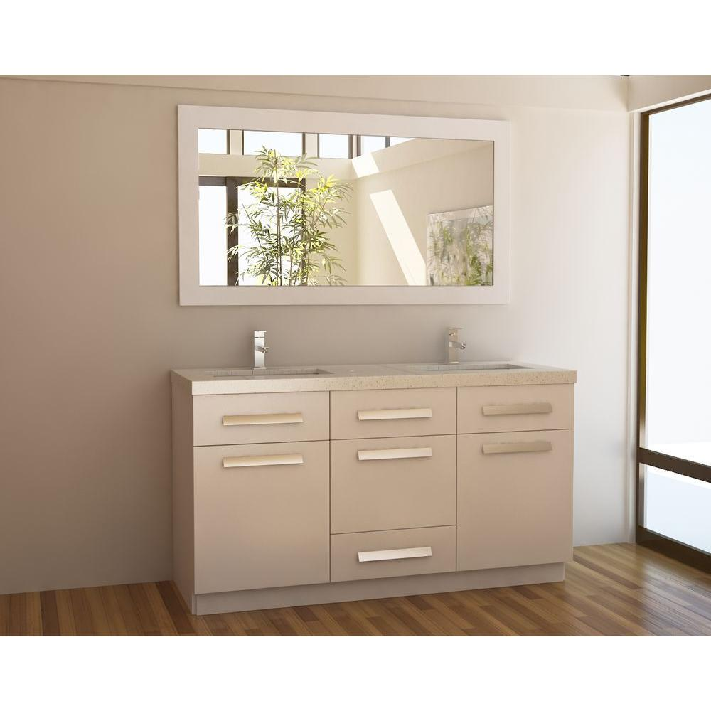 Picture of: 60 Inch Double Sink Vanity Cabinet