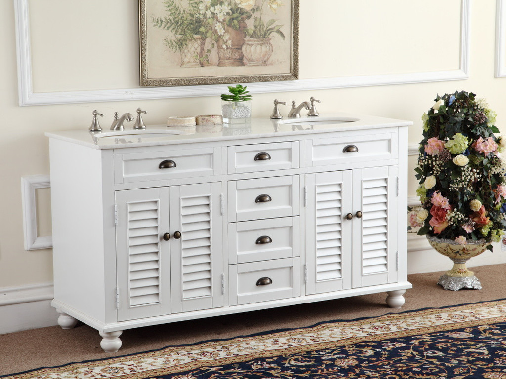 Picture of: 60 Inch Double Sink Vanity Series