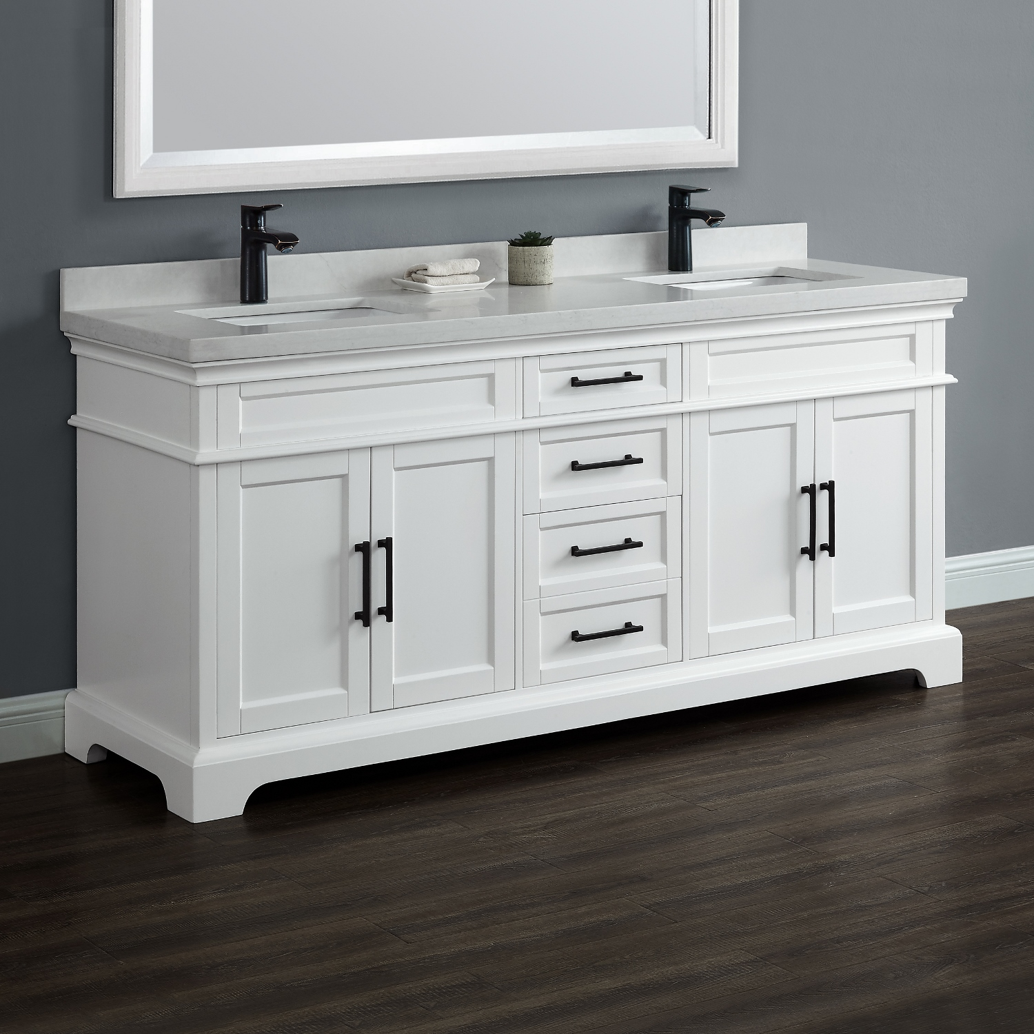 Picture of: 72 Double Sink Vanity Style