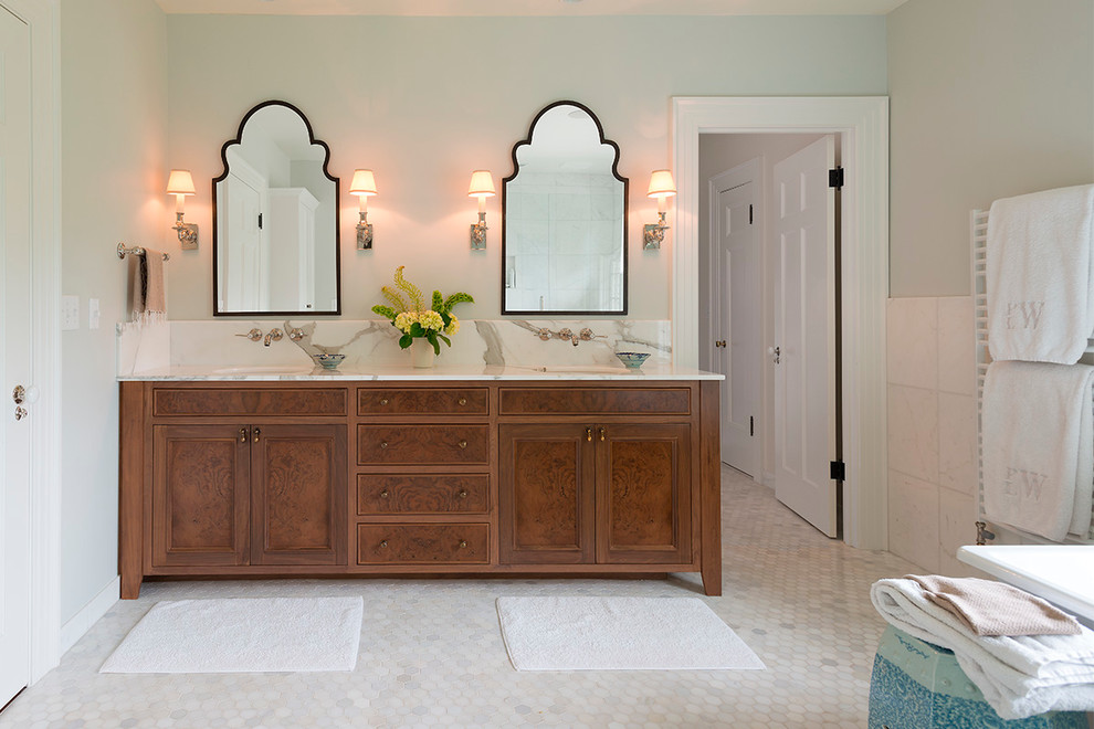 Image of: Amazing Double Vanity Mirror