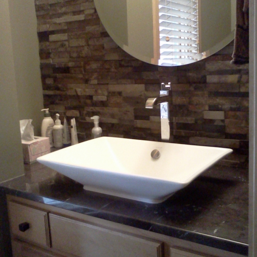 Picture of: Bathroom Vanities with Tops Area