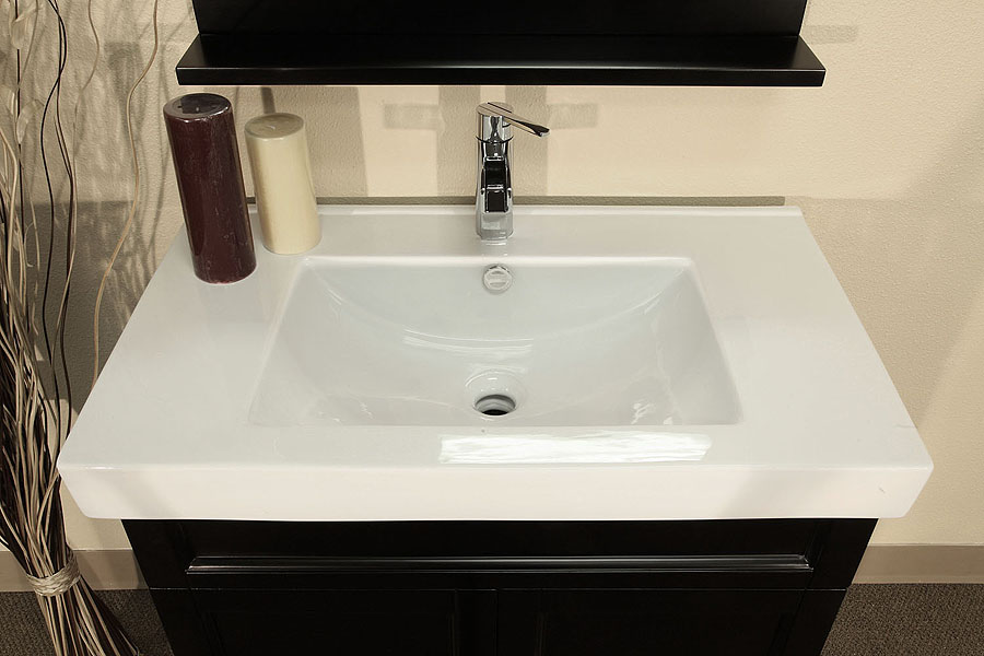 Picture of: Bathroom Vanities with Tops Single Sink