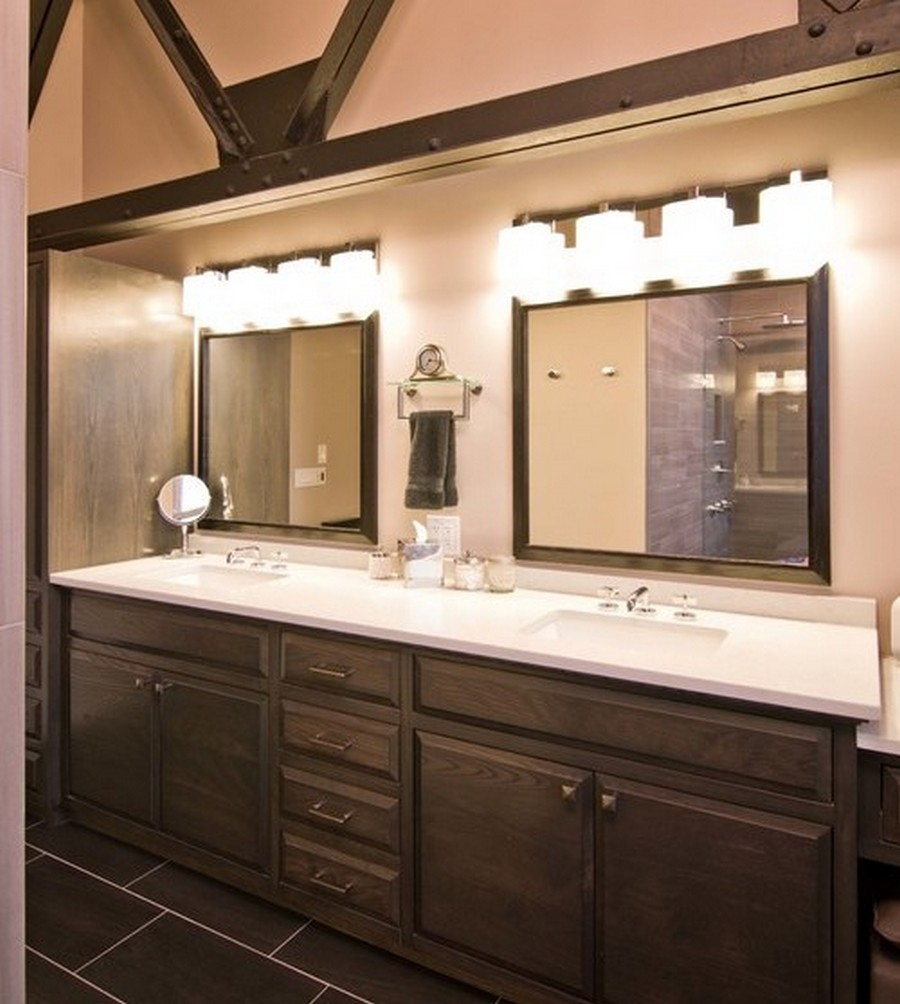 Bathroom Vanity Light Fixtures Model