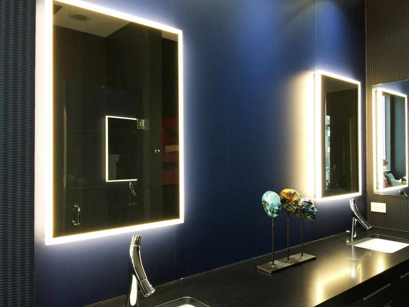 Picture of: Bathroom Vanity Light Fixtures on Wall