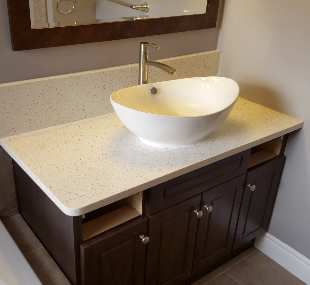 Image of: Bathroom Vanity Tops Bowl
