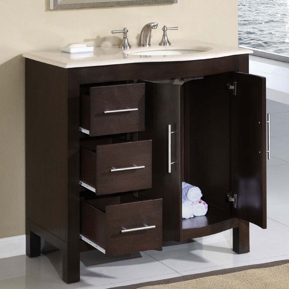 Picture of: Bathroom Vanity with Sink Ideas