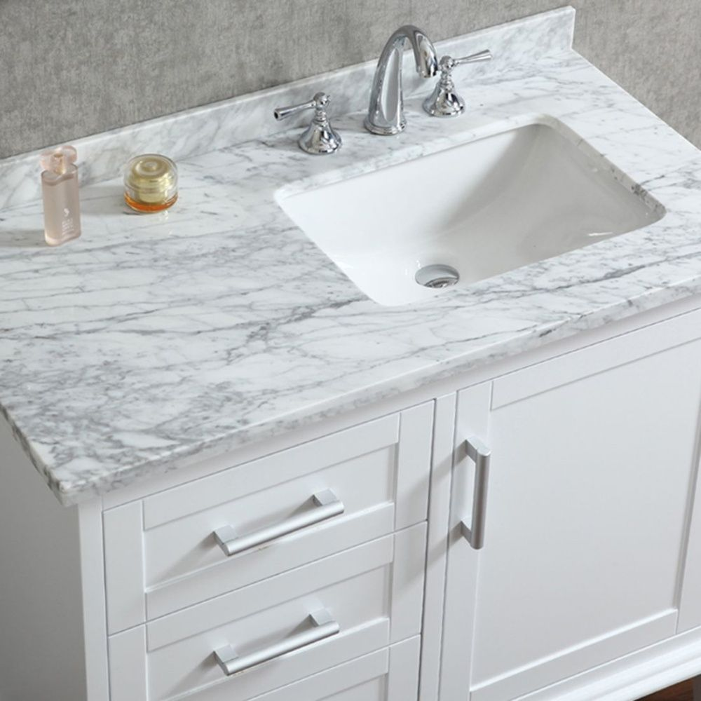 Picture of: Bathroom Vanity with Sink Single