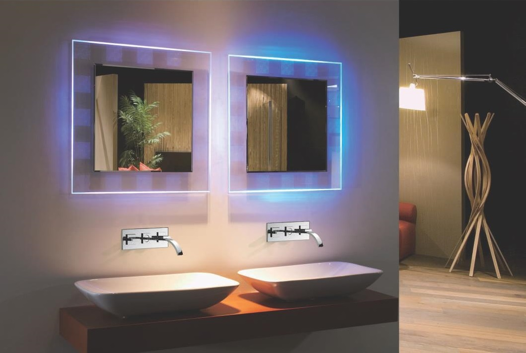 Picture of: Beautiful LED Vanity Mirror
