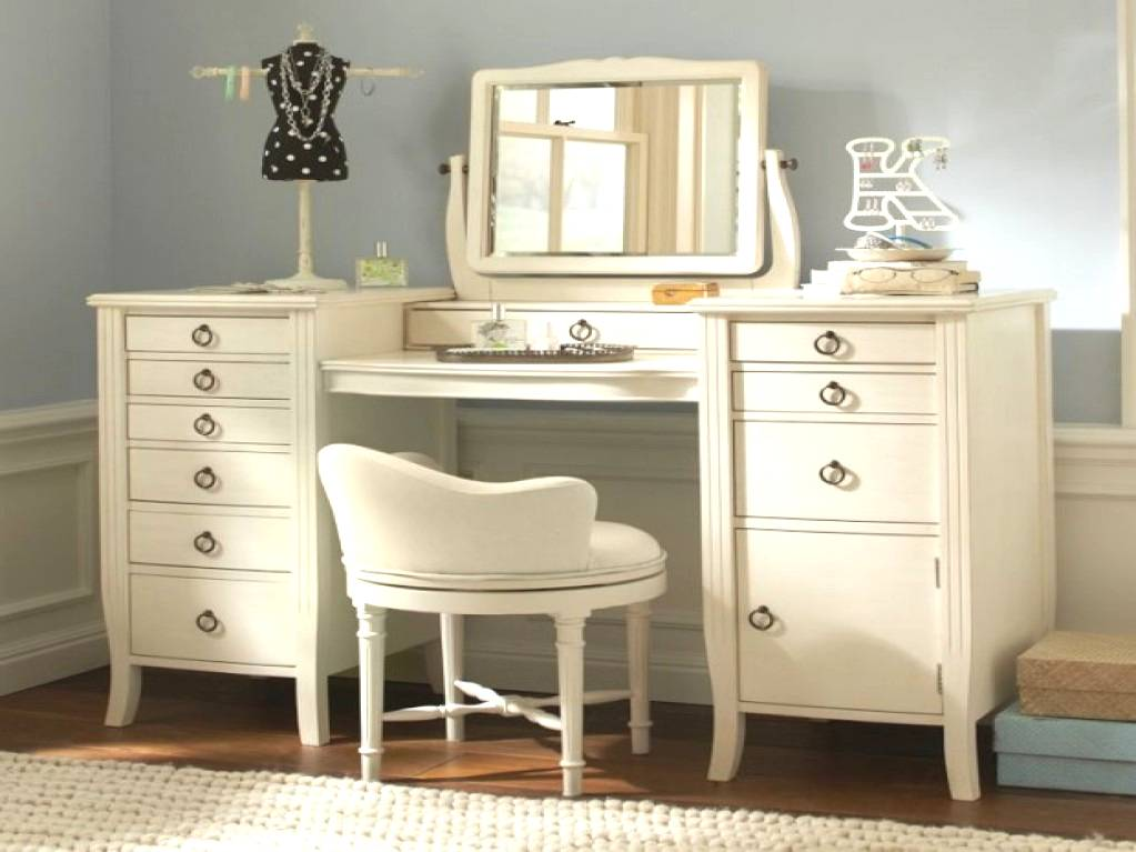 Bedroom Vanity IKEA Desk