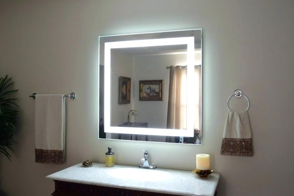Image of: Bedroom Vanity Set with Lights Led