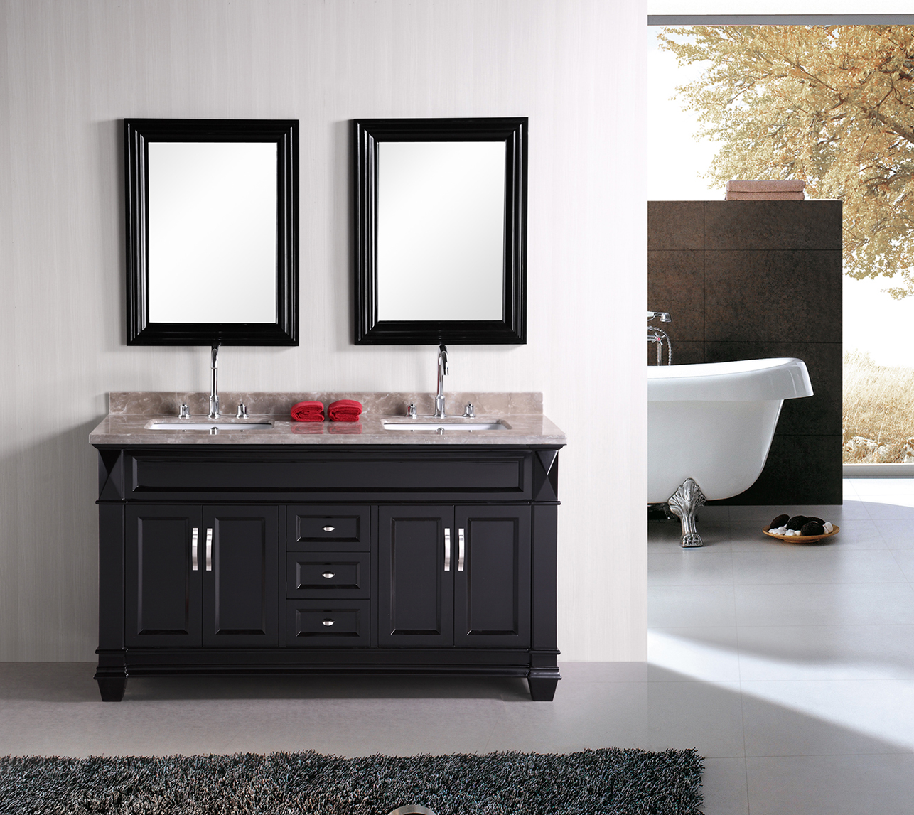 Image of: Best 60 Double Sink Vanity Ideas