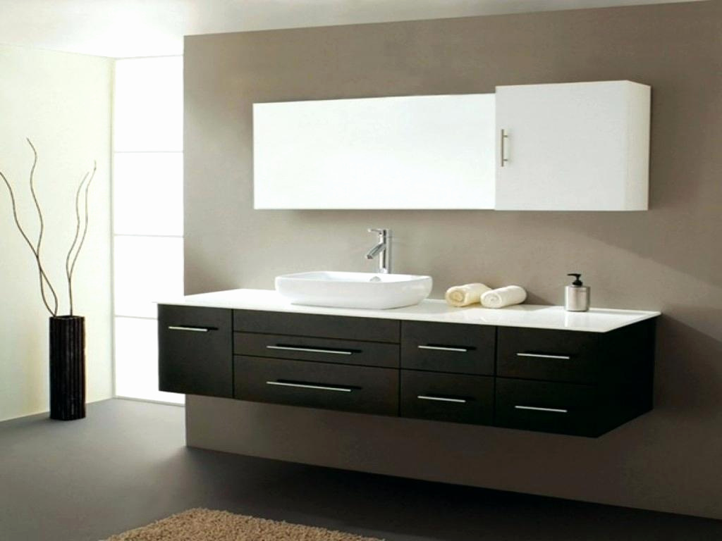 Image of: BlackWhite Double Vanity