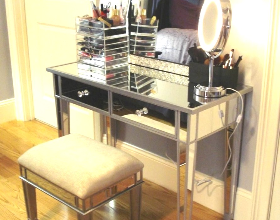 Picture of: Build-a-Vanity-Set-with-Lighted-Mirror