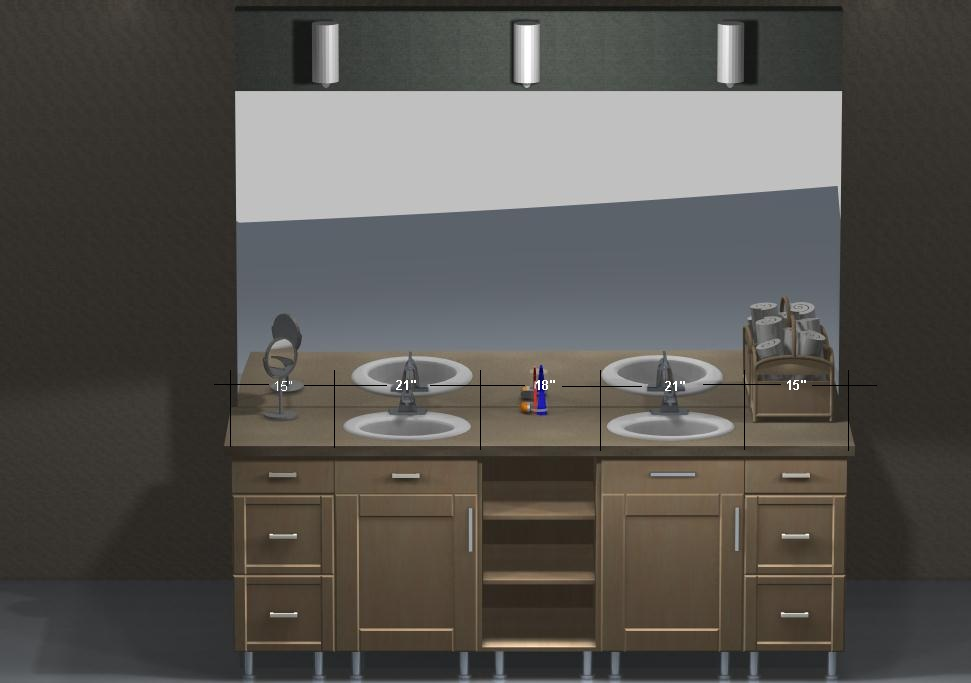 Image of: Buy 48 Double Vanity
