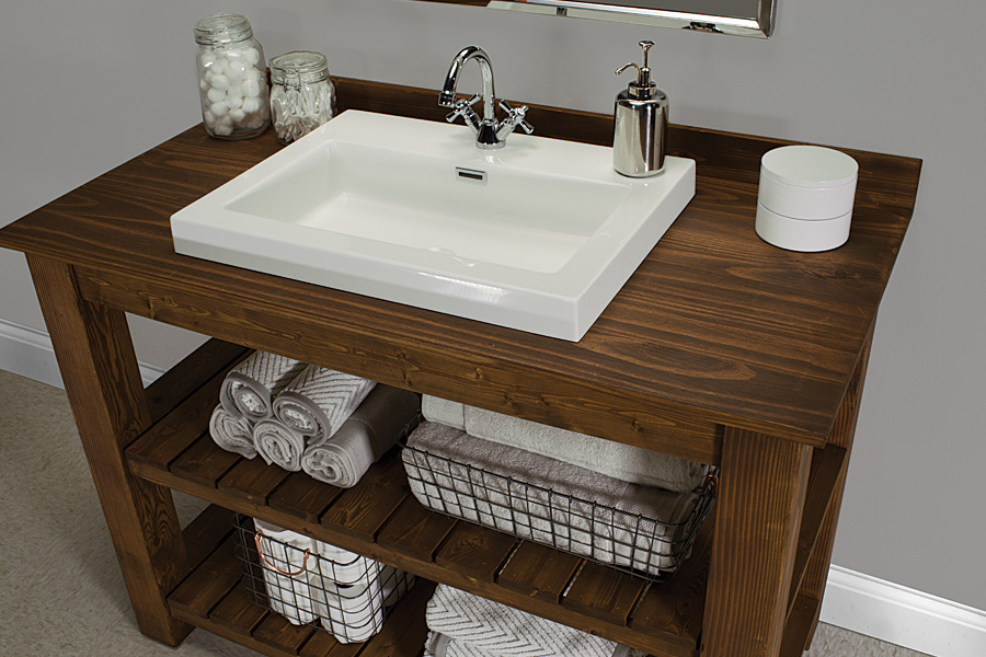 Image of: Buy Rustic Bathroom Vanities