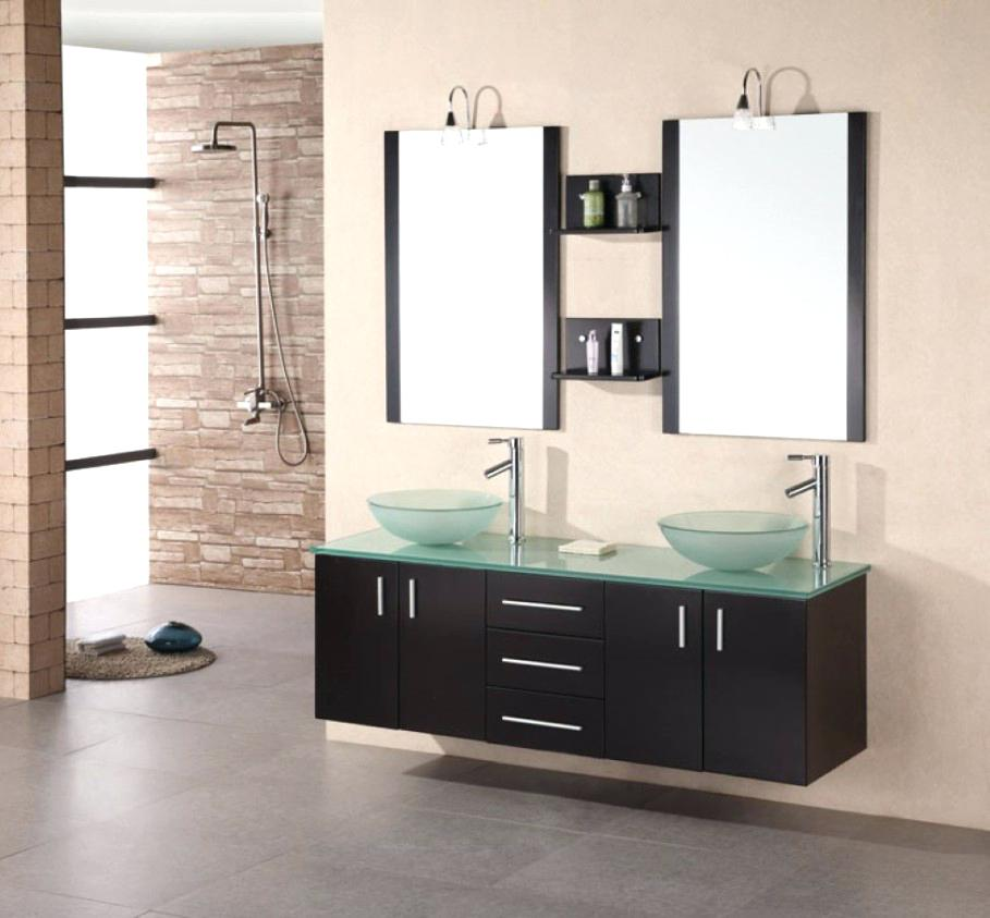 Image of: Contemporary 48 Double Sink Vanity