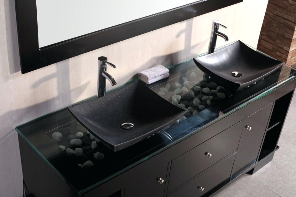 Picture of: Contemporary Bathroom Vanity with Sink