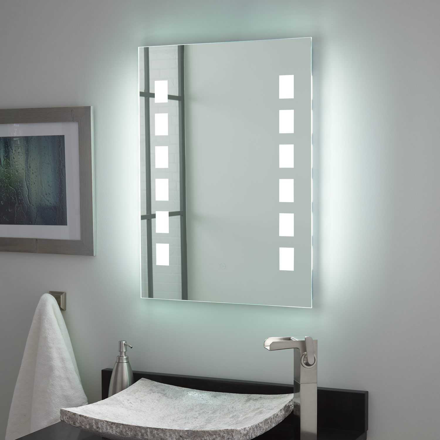 Image of: Contemporary LED Vanity Mirror