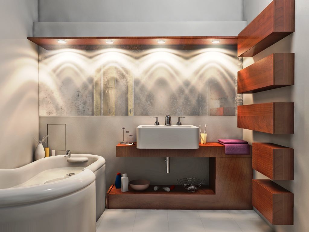 Image of: Contemporary Vanity Lights
