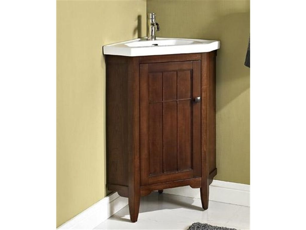 Picture of: Corner Small Bathroom Vanities