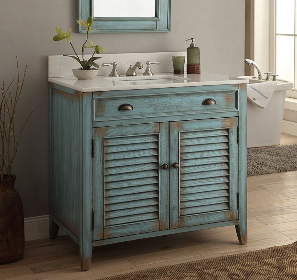 Image of: Cottage Ikea Double Vanity