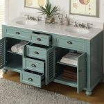 Cottage Look 60 Inch Double Sink Vanity