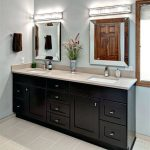 Custom Double Vanity Mirror