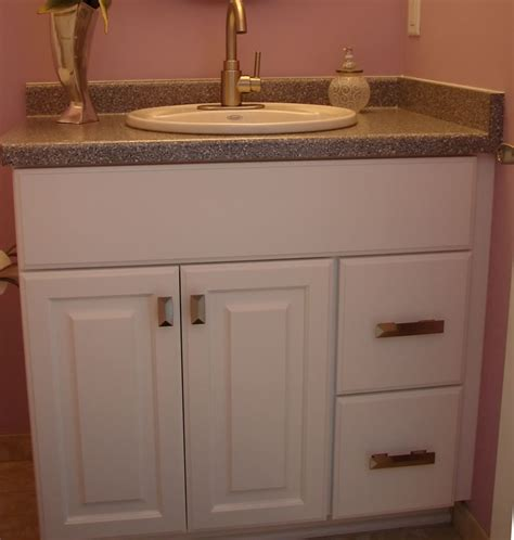 Picture of: Custom Small Bathroom Vanities