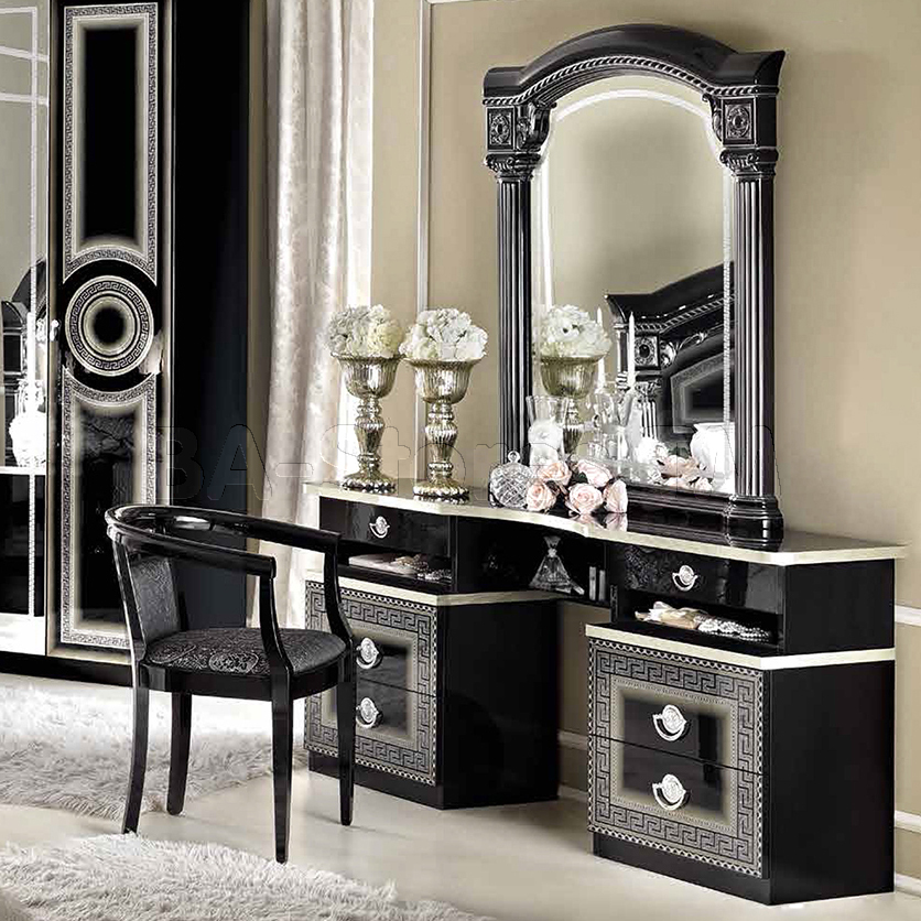 Picture of: Cute Black Vanity Mirror