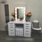 Vanity Dressing Table With Mirror And Lights Beautiful DIY Vanity Mirror With Lights For Bathroom And Makeup Station