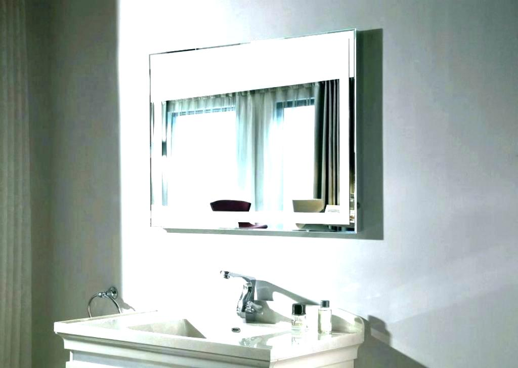 Image of: Famous Vanity Wall Mirror