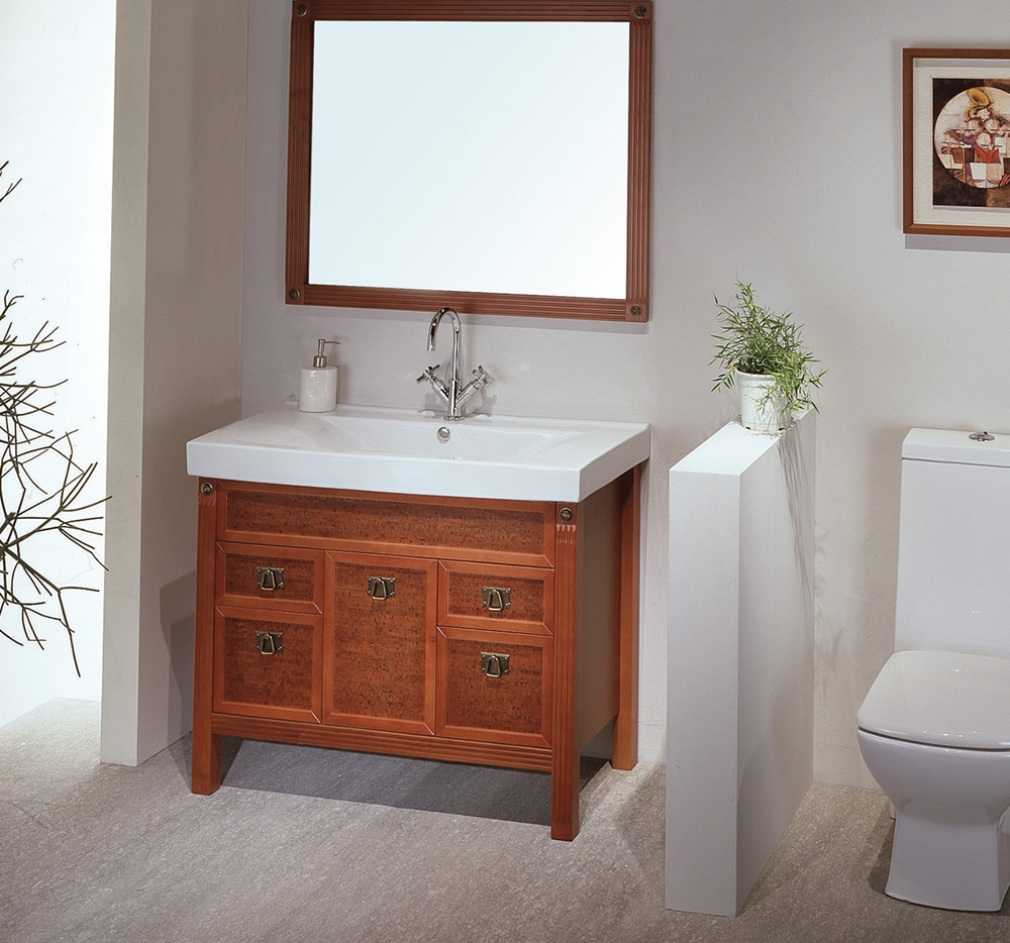 Picture of: Fancy Bathroom Vanity with Sink