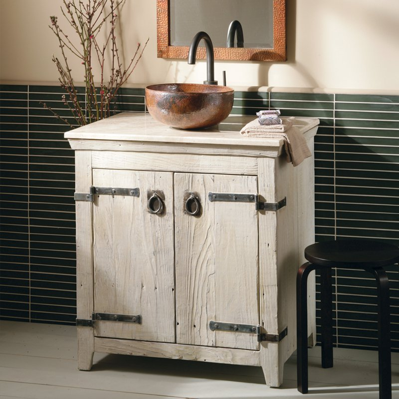 Picture of: Farm Bathroom Vanity with Sink