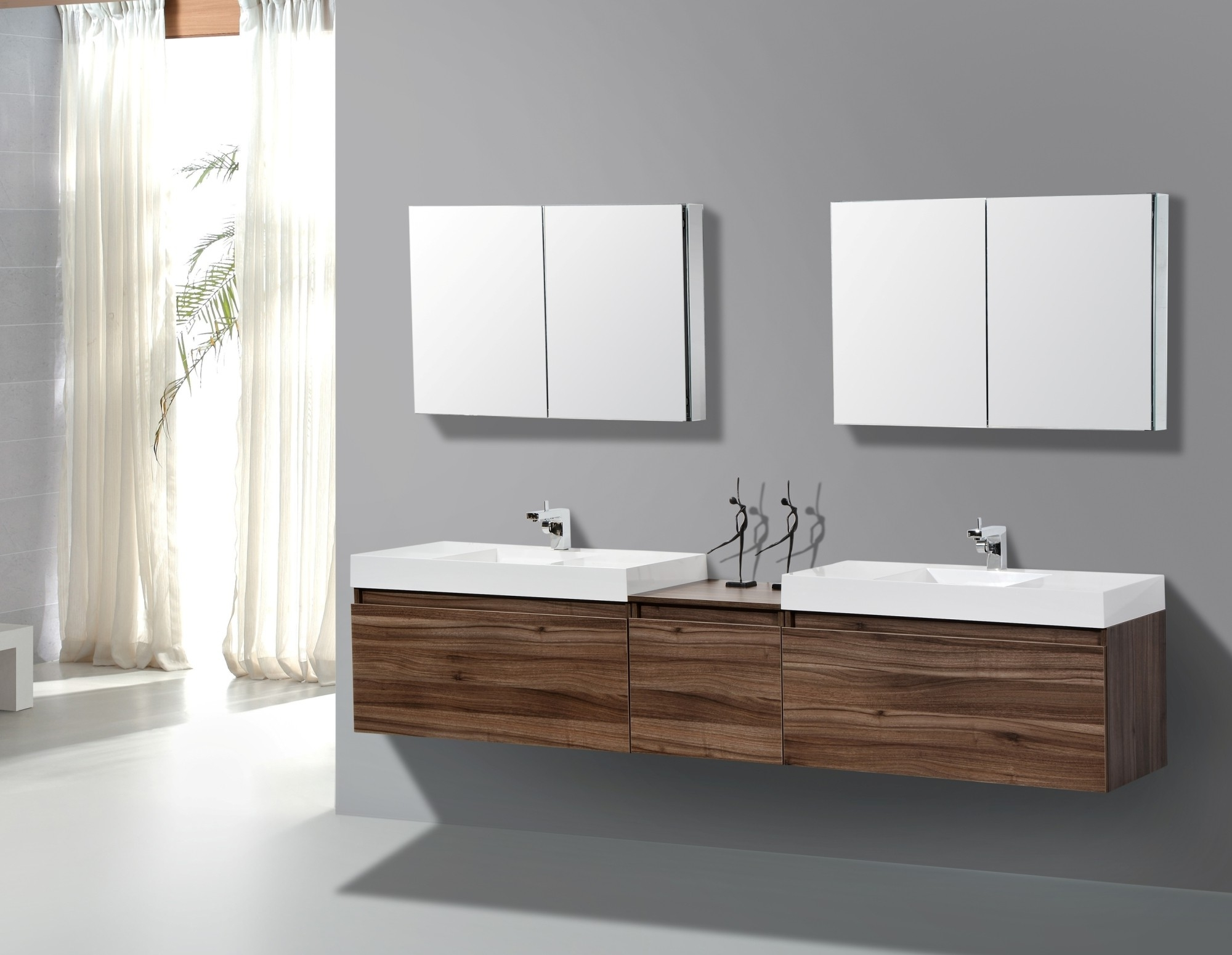Image of: Floating Bathroom Vanity Ideas