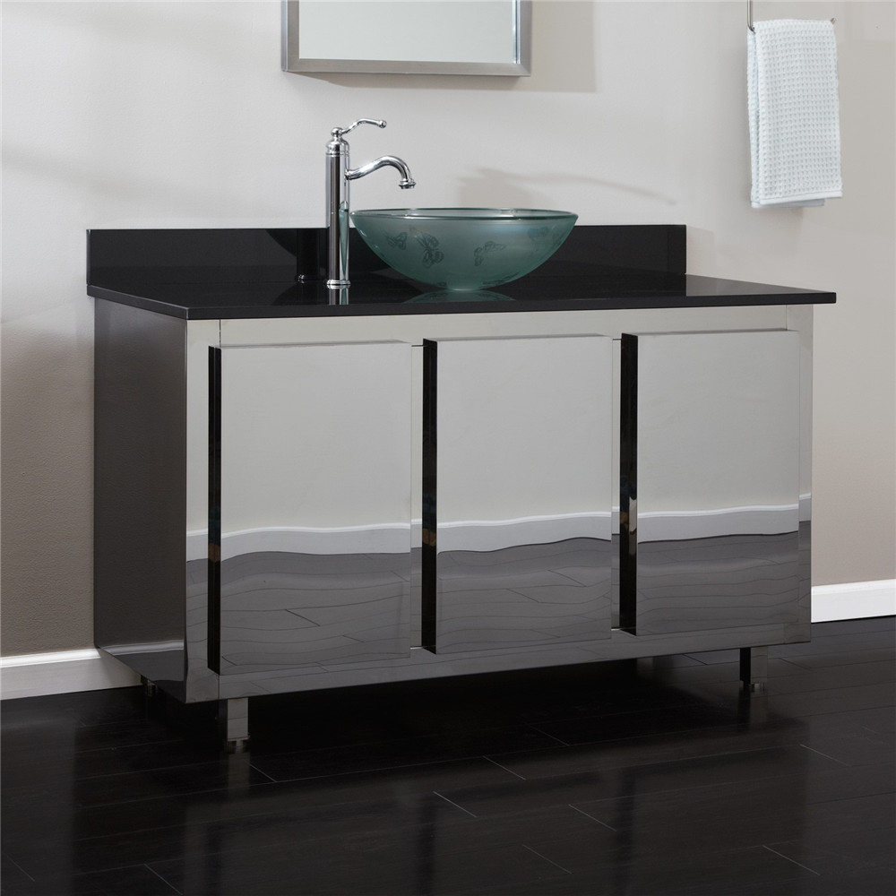 Picture of: Glossy Double Vanity