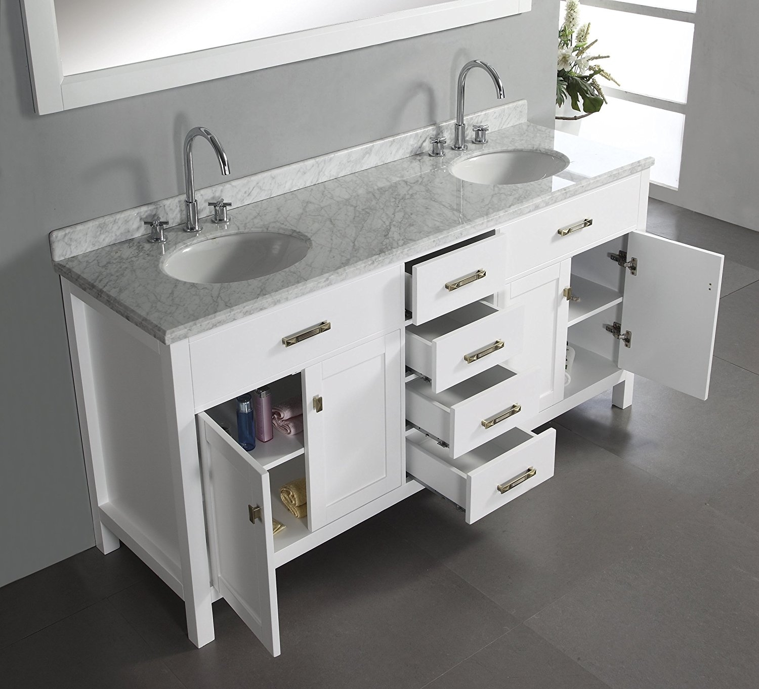 Picture of: Good 48 Double Sink Vanity Ideas