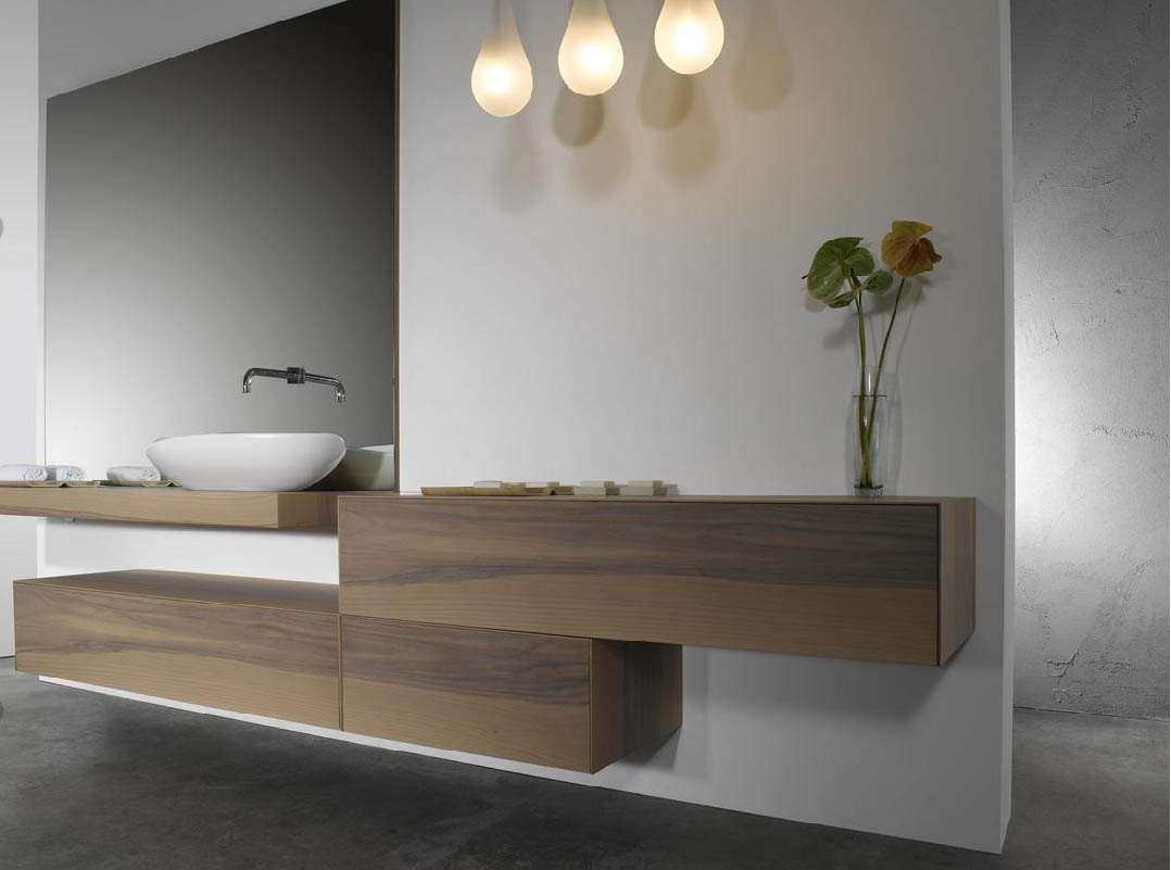 Image of: Good Modern Bathroom Vanities