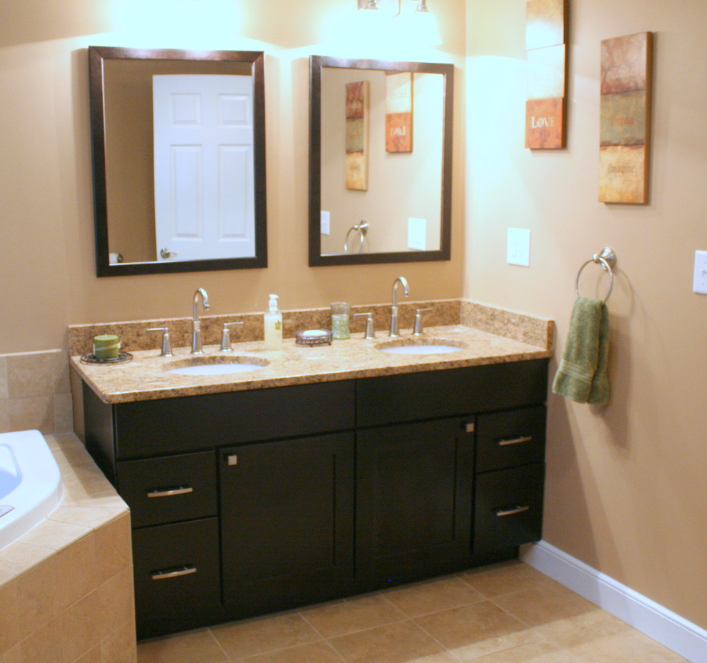 Image of: Great 60 Double Sink Vanity