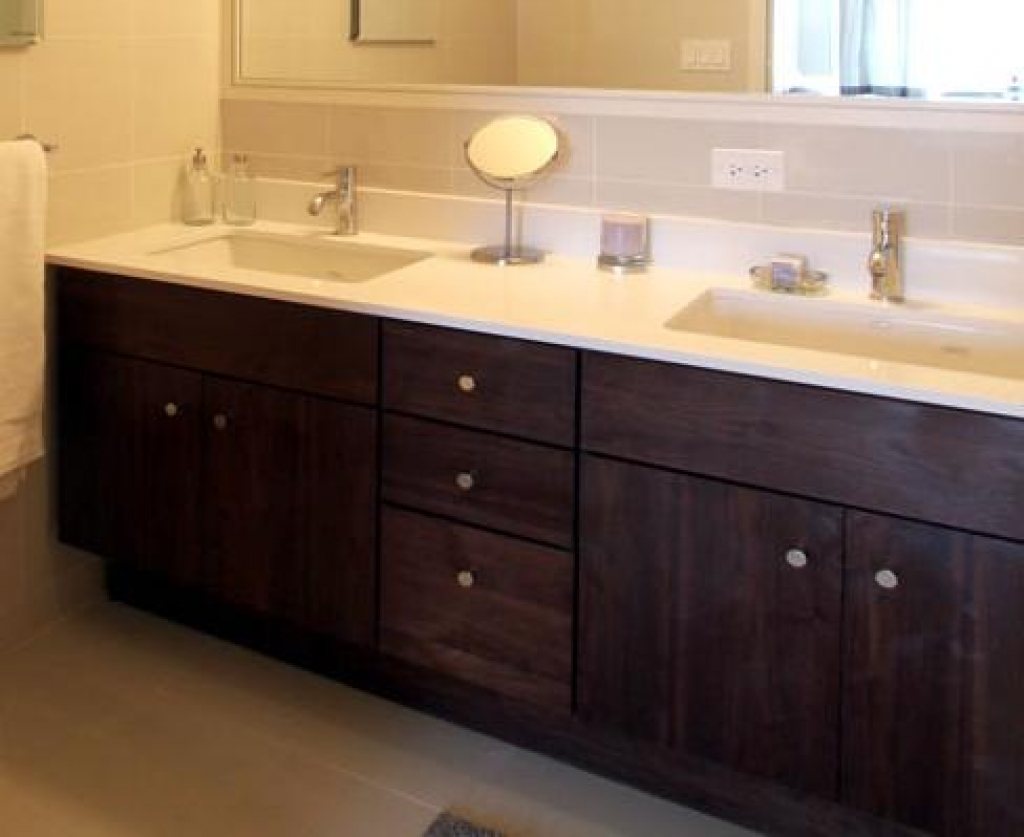 Image of: Great Double Vanity Bathroom